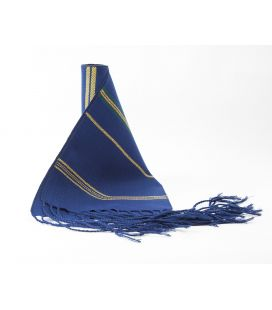 Faja Rayada Algodón Azulón
