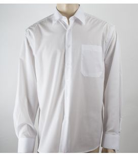Camisa Blanca Básica Adulto
