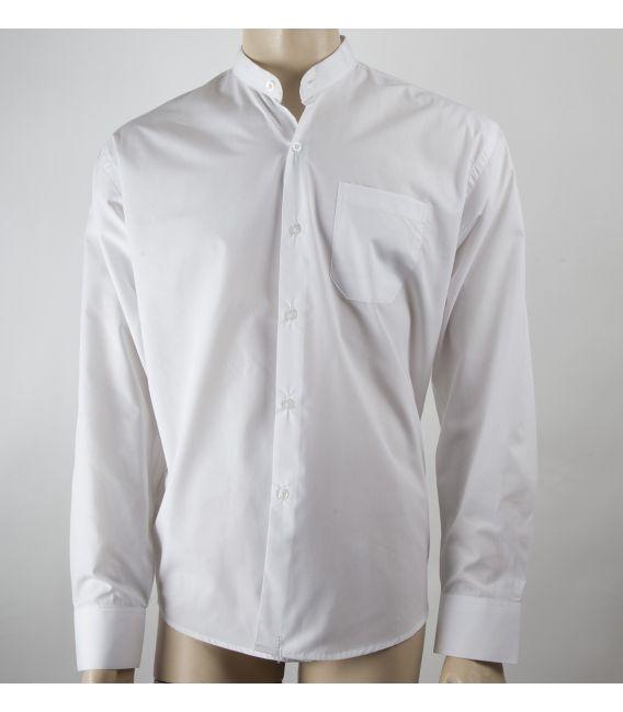 Camisa Lisa cuello mao Infantil