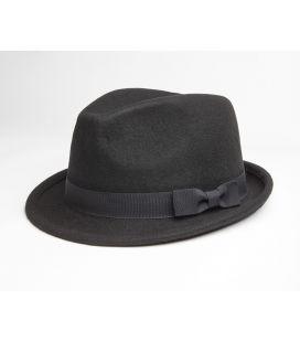 Sombrero de lana Negro