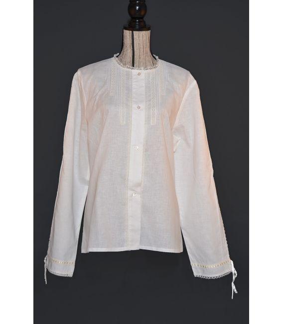 Blusa Mañica para traje tradicional de aragonesa baturra