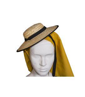 Sombrero de paja mujer