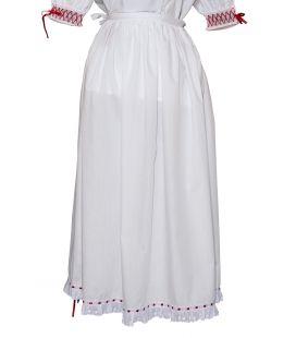 Enagua típica traje regional canario La Orotava