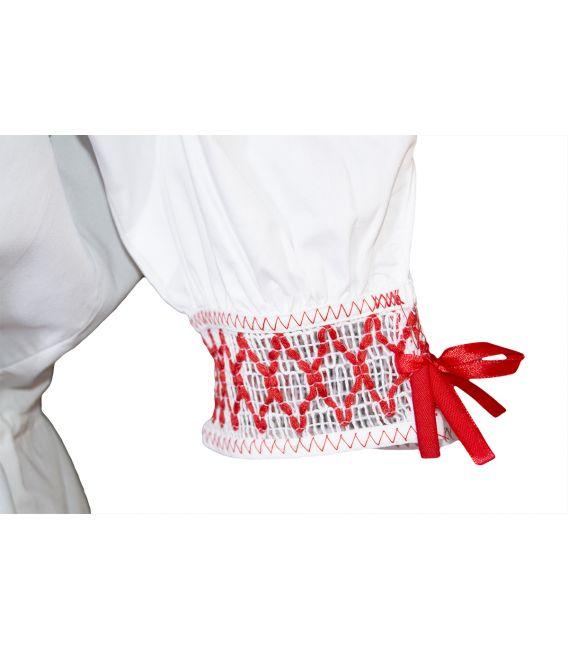 Blusa Calada típico traje canario Orotava fiestas regionales