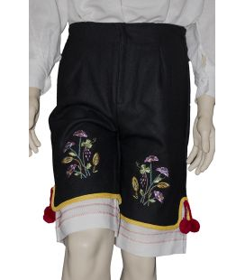 Pantalón bordado Orotava hombre traje típico regional Canarias