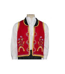 Chaleco bordado Orotava traje típico regional canario