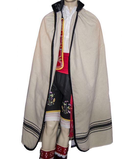 Manta Esperancera, manta de pastor, manta de mago, manta cumbrera, manta típica tradicional traje regional Tenerife, Canarias