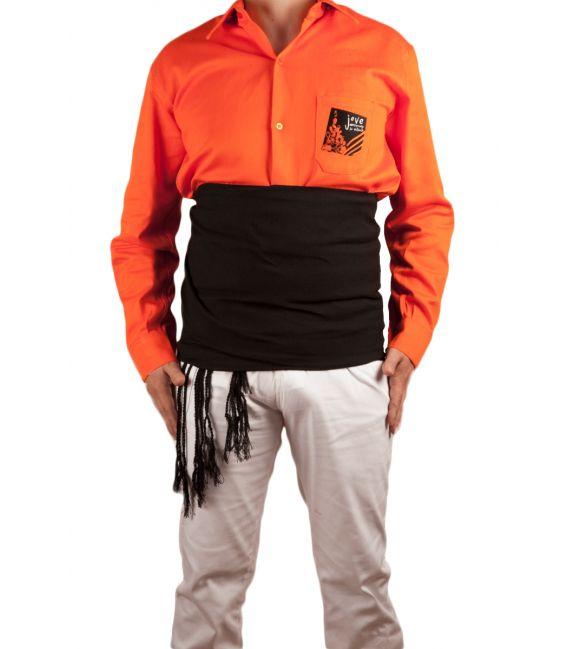 Camisa especial para castellers y muixerangues, gran resistencia, flexibilidad, comodidad
