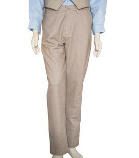 Pantalón de lino grueso