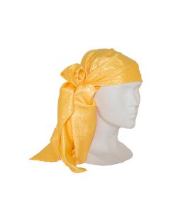 Pañuelo Brocado Amarillo Canario