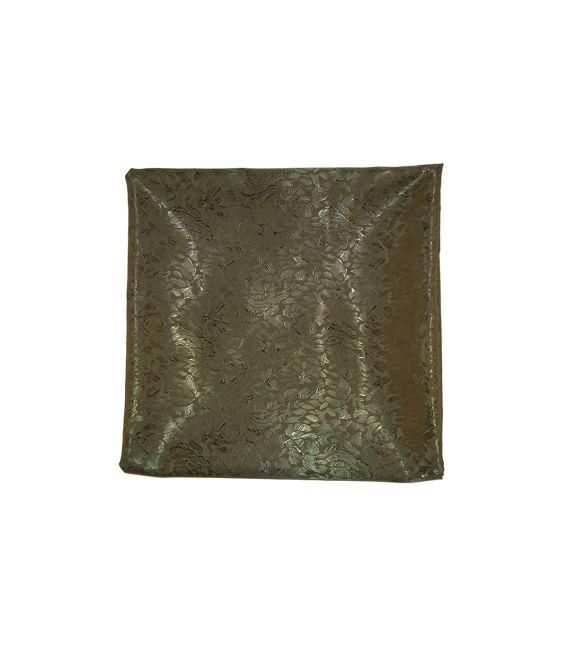 Pañuelo Brocado Verde Oliva
