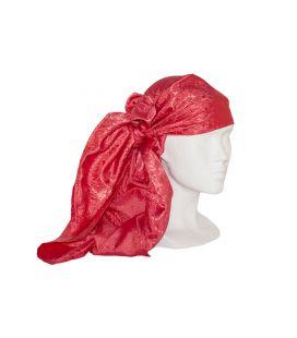 Pañuelo Brocado Rojo