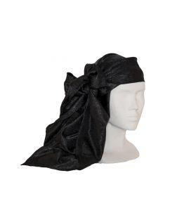Pañuelo Brocado Negro