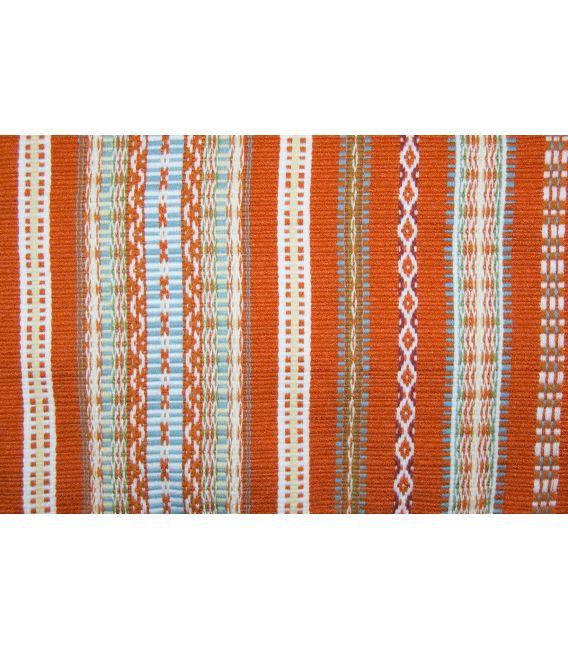 Bufanda unisex de tejido de manta morellana S2 Naranja