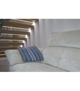 Manta de sofá S1 azafata gris