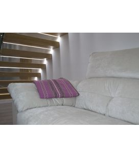 Manta de sofá S1 fesa berenjena