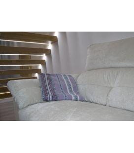 Manta de sofá S1 lila