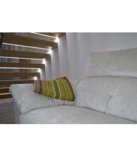 Manta de sofá S1 oro verde