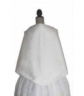 Pañolón albufera blanco