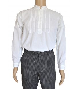 Camisa Gandía Bordada Espiga Infantil