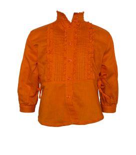 Blusa Clara niña naranja