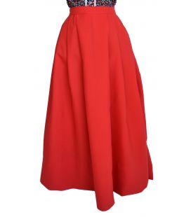 Falda Strech Rojo