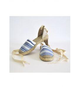 Alpargata mujer azul (mod. 100)
