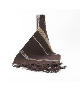 Faja Rayada Algodón chocolate