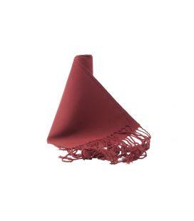 Faja Lisa Algodón granate