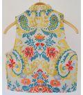 Chaleco Cruzado - Color Gris - Talla 8