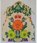 Chaleco Cruzado - Color Crudo - Talla 14
