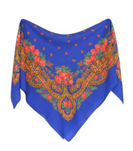 Pañuelo portugués azulina