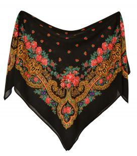 Pañuelo portugués negro