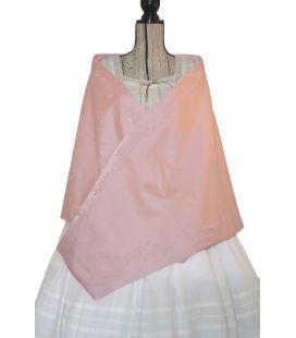 Pañolón albufera rosa