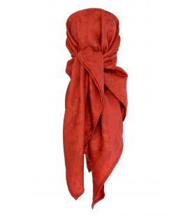 Pañuelo Damasco Rojo